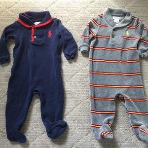 Ralph Lauren Baby Boy One-piece Rompers Coverall